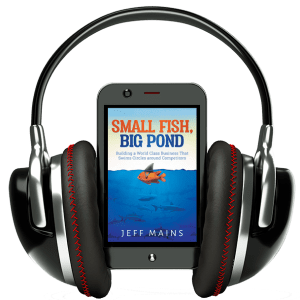 Small Fish Big Pond - Audiobook